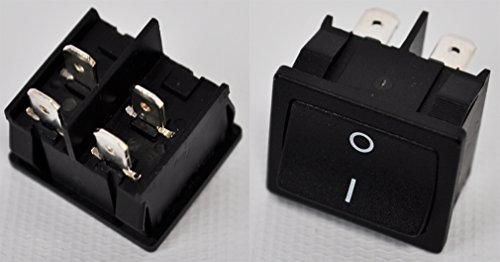 Master Vacuum Switch (Clarke Commercial Comfort Vac Backpack Power Switch NILFISK 10405496510)