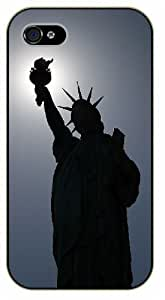 iPhone 5 / 5s New York Statue of Liberty - black plastic case / Nature, Animals, Places Series by icecream design