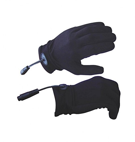 Gears Electric Heated Glove Liners + Portable Battery Pack + Cord COMBO (X-Small/Small) Gears Canada