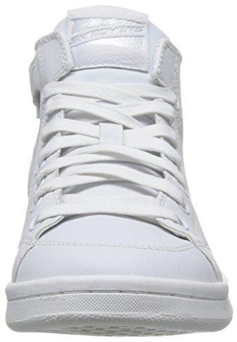 Femme Skechers midtown Hautes Sneakers Omne wht Blanc Igg6Pq4w7