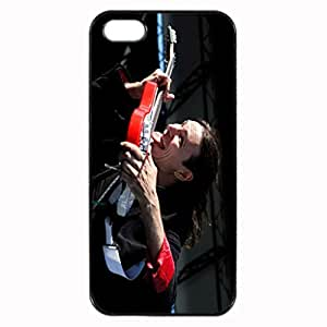 Steve Vai Image Protective Iphone 5s / Iphone 5 Case Cover Hard Plastic Case for Iphone 5 5s