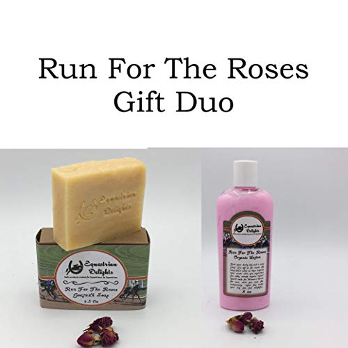 Run For The Roses Duo, Equestrian Gifts Under 25, Organic Gifts,
