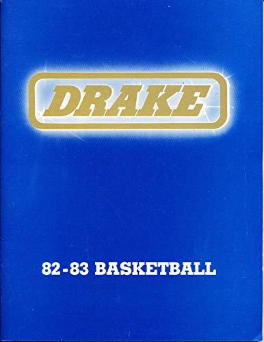1982-1983 Drake Basketball Media Press Guide bk23c ()