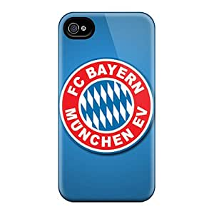 Scratch Resistant Cell-phone Hard Covers For Iphone 6plus With Support Your Personal Customized High Resolution Fc Bayern Munich Image ErleneRobinson