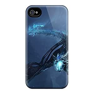 New Style 4/4s Protective Cases Covers/ Iphone Cases - World Of Warcraft Dragon