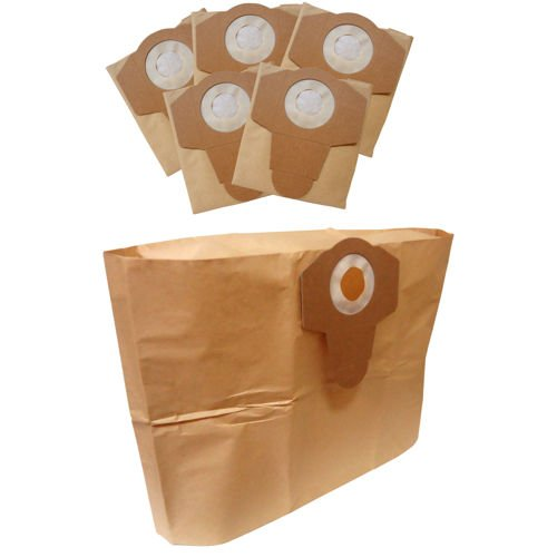 Kubota 6-pack Disposable Replacement Dust Filter Bags 8 Gallon (Kubota Wet Dry Vac 12 Gallon Review)