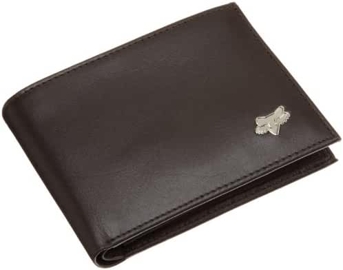 Fox Men's Leather Bifold Wallet