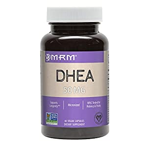 MRM DHEA 50mg, 60 Vegetarian Capsues