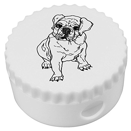 Decorative Pencil Sharpener - 'Bulldog Puppy' Compact Pencil Sharpener (PS00007118)