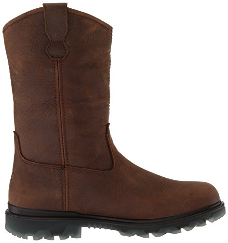 Boot Men's Wolverine Construction Waterproof Brown Soft 90 I Toe Sudan Wellington p88Px6wH