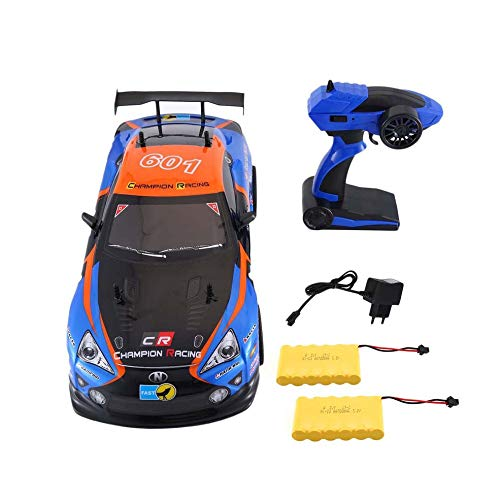 CHOULI J601-9 1/10 1400mAh 2.4G 25KM/h Racing Car RC Model Car Toys 2 Batteries EU EU Blue & Orange