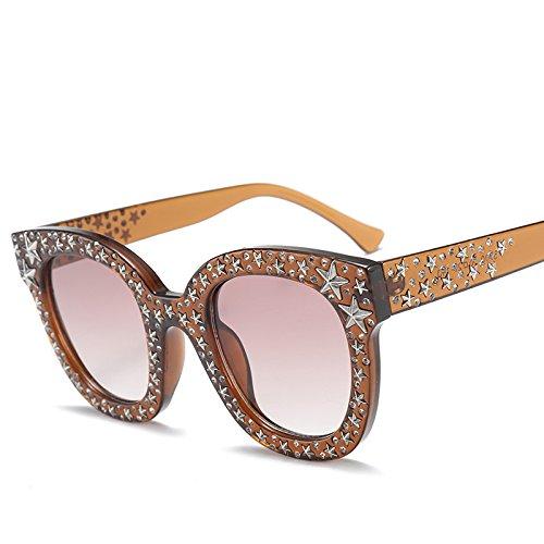 Gafas Pentagrama Mujeres De Gafas B Tendencia Personalidad Sol Accesorios Damas Retro G De Gafas KlaPe Sol PqnYgY1