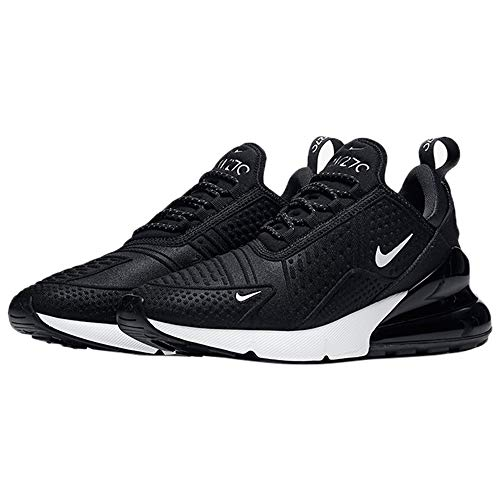 Uomo Max Nike black White Leather Da 90 Ginnastica Scarpe Air Black summit wr005qCx7
