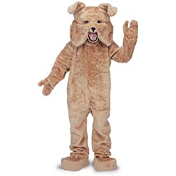 Rubie's Bull Dog Mascot Costume Tan, Tan, One Size