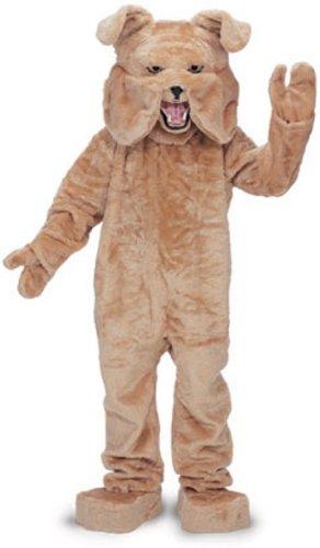 Rubie's Bull Dog Mascot Costume Tan, Tan, One Size ()