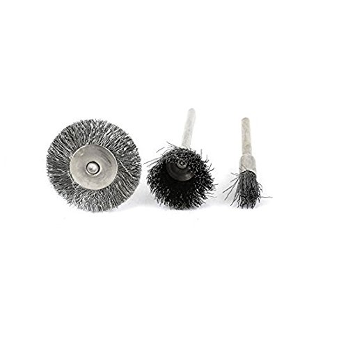 Shina 45/PC filo di acciaio ruota spazzole per Dremel accessori Rotary Tools Polish