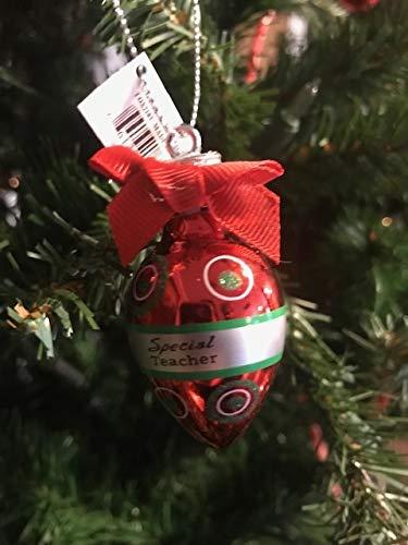 Light Bulb Christmas Ornaments.Amazon Com Ganz Personalized Mini Red Light Bulb Christmas