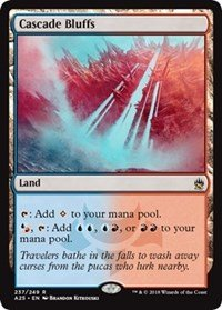(Wizards of the Coast Cascade Bluffs - Masters 25)