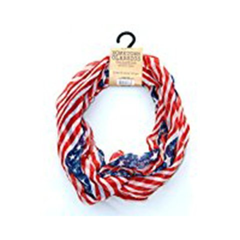 Lavello Hometown Classics Collection Infinity Scarf Stars & Stripes Ensemble (Home Ensemble)
