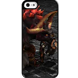 Custom personalized Protective Case for iPhone 5 - Game League of Legends LOL Alistar