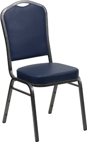 Amazon.com - Flash Furniture HERCULES Series Crown Back Stacking ...