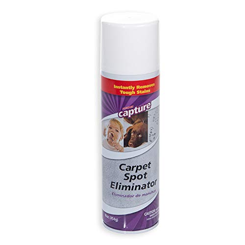 Capture Carpet Spot Eliminator 16 oz _Treatment For Any Stain Including Grease and Oil Based Stains, Ink, Makeup, Lipstick, Carpets and Furniture