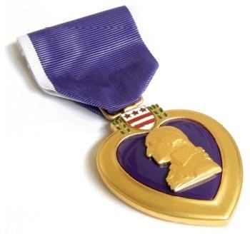 Heart Purple - Purple Heart Medal Full Size