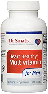 Dr. Sinatra's Heart Healthy Multivitamin for Men, 120 Tablets (30-day Supply)