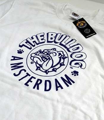Taglia Bianca M Girocollo Maglione Logo Cotone The Amsterdam Bulldog Felpa 4wZSznxqYB
