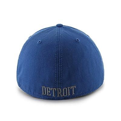 NFL Detroit Lions Franchise Fitted Hat, Medium, Blue Raz