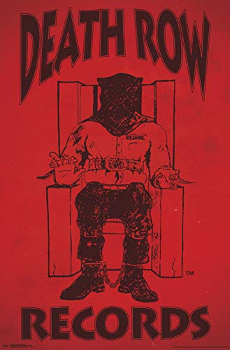 Trends International Death Row Records - Logo Wall Poster 22.375