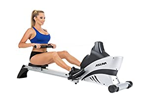 ASUNA 4500 Commercial Folding Rowing Machine Rower w/ Heart Rate Monitor by ASUNA