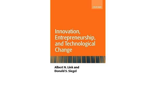 link between innovation and entrepreneurship