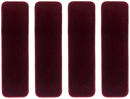 RugStylesOnline Collection Treads Resistant Burgundy product image