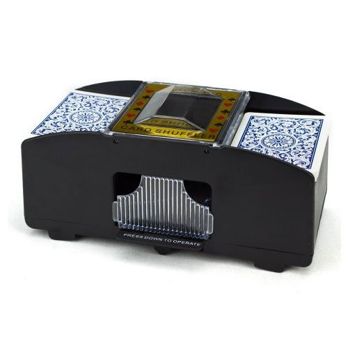Brybelly Two Deck Automatic Card Shuffler (Shuffler Deck 1 Card)
