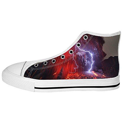 Descuento Amplia Gama De Sitios Web Gratuitos Envío Custom illuminazione Womens Canvas shoes I lacci delle scarpe scarpe scarpe da ginnastica Alto tetto Visita Aclaramiento Nueva FPI00NGTs0