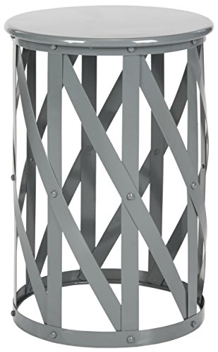 Safavieh Home Collection Bertram Grey Barstool