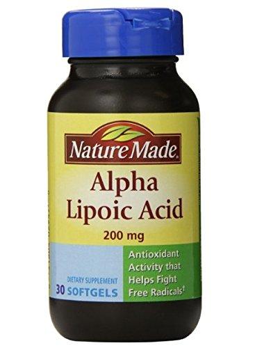 Nature Made Alpha Lipoic Acid product image