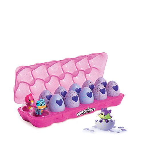12 hatchimals a collectionner boite a oeuf