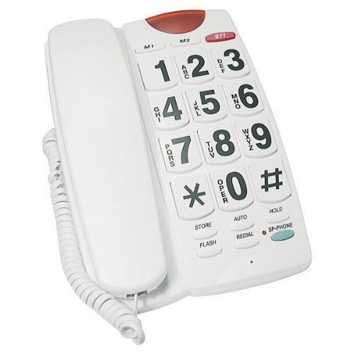 Future-Call Standard Phone - White FC-4357 by Future-Call