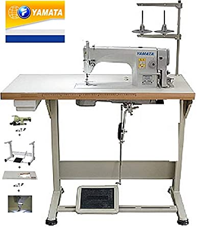 Amazon Yamata FY40 Lockstitch Industrial Sewing Machine With Cool Industrial Sewing Machine Tables