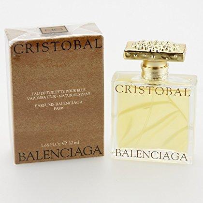 Balenciaga Cristobal Women Pour Elle Eau De Toilette Spray 50ml (Perfume Cristobal)