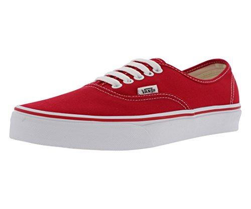 Vans Authentic(tm) Core Classics, Red, Men's 7.5, Women's 9 Medium (Vans Women Boots)