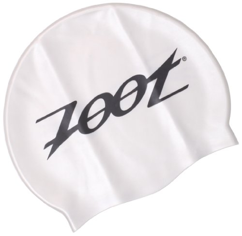Zoot Sports Men's Swimfit Silicone Cap, Silver, One Size - Zoot Cap