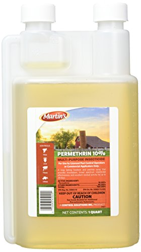 Martin's Permethrin 10% Multi-Purpose Insecticide, 32oz (1 - Style Bug Car