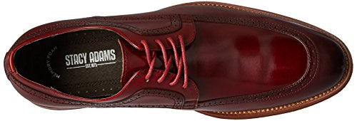 Stacy Adams Heren Dwight Moc-teen Veter Oxford Rood