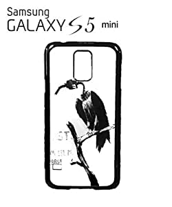 Banksy Petrol Gas Pump Head Vulture Dungeness Mobile Cell Phone Case Samsung Galaxy S5 Mini White