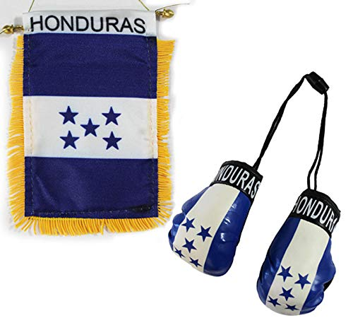 Flagline Honduras - Boxing Glove and Window Hanger Combo