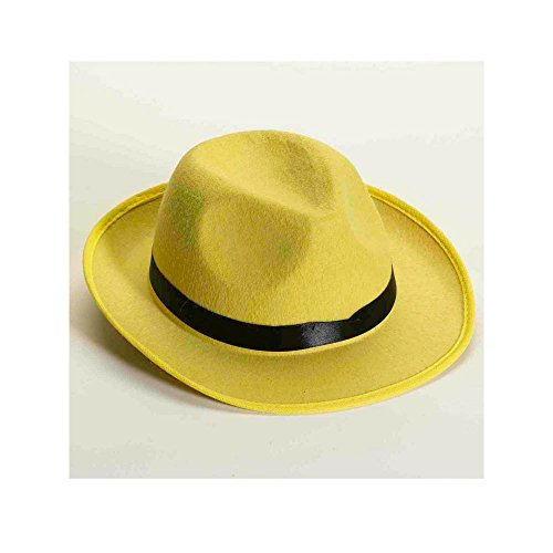 Forum Novelties Yellow Deluxe Fedora ()