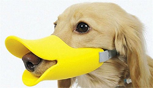 1pack-valer-novelty-cute-silicone-duckbilled-dog-muzzle-dog-mouth-cover-duck-respirator-dog-protecti